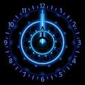 10 Blue Neon Clocks icon