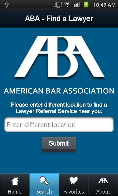 Find a Qualified Lawyer - screenshot
