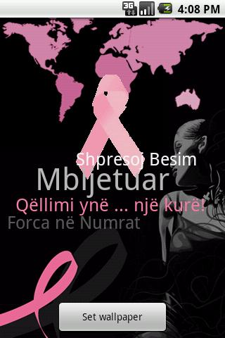Albanian - Breast Cancer App- screenshot