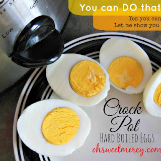 Crock Pot Hard Boiled Eggs.