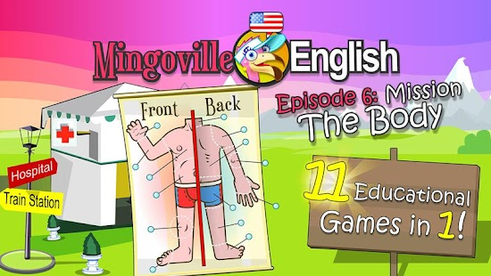 How to install Kids English 6: The Body lastet apk for pc