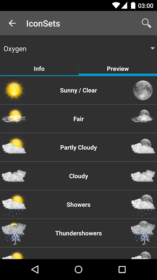 AmberHome Weather Plus - screenshot