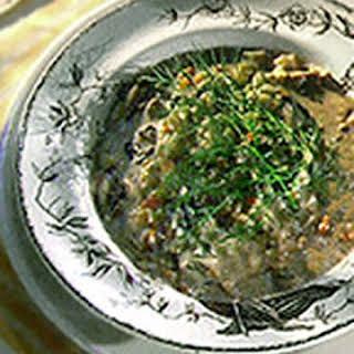 Polish Mushroom Soup.