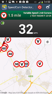 Speed Camera Detector Free- screenshot thumbnail
