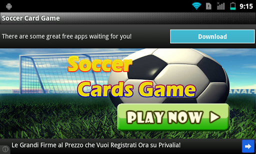 Football: Soccer Cards Game