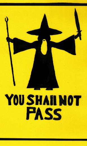Shall not pass Live Wallpaper