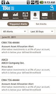 Merrill Edge for Android- screenshot thumbnail