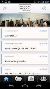 Marcum MicroCap Conference - screenshot thumbnail