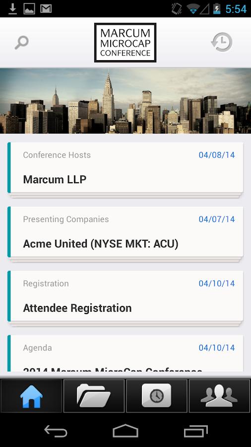 Marcum MicroCap Conference - screenshot