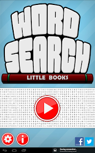 Word Search Little Books