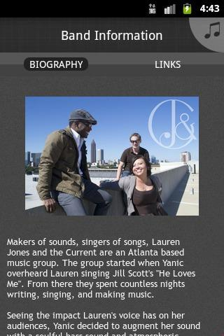 Lauren Jones & The Current - screenshot