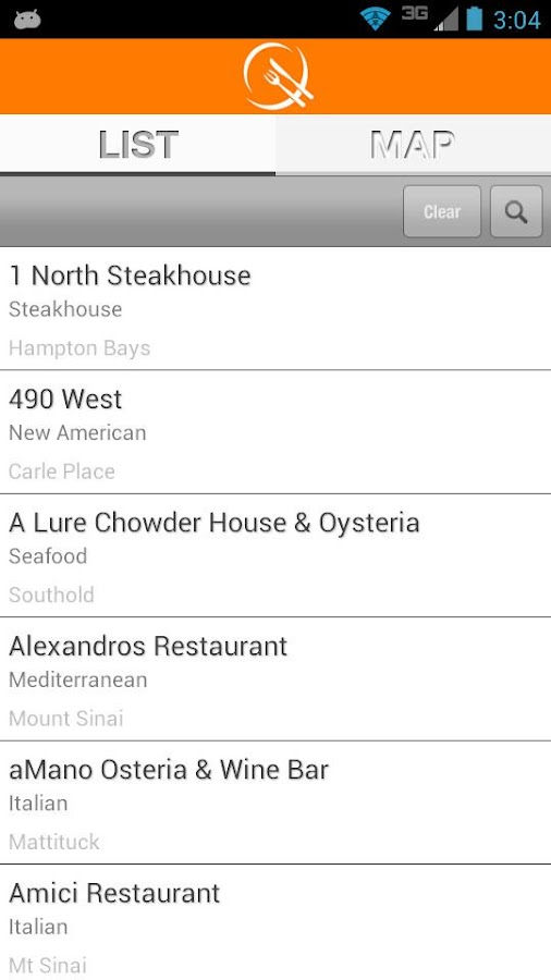 Long Island Restaurant Week - screenshot