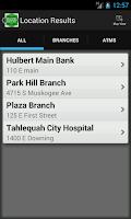 Screenshot of Bank of Cherokee County