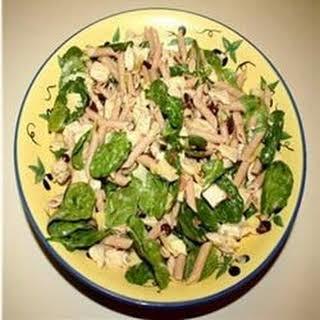 Asparagus and Artichoke Pasta Salad.