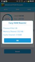Screenshot of Advanced Ram Booster