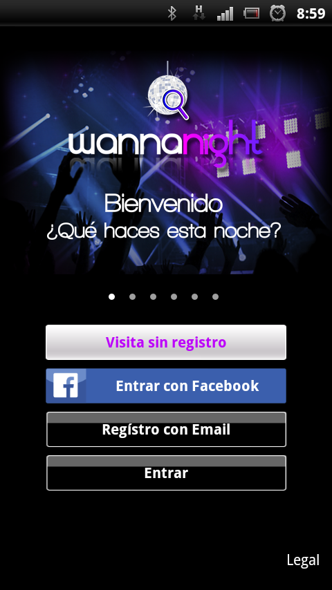 Wannanight- screenshot