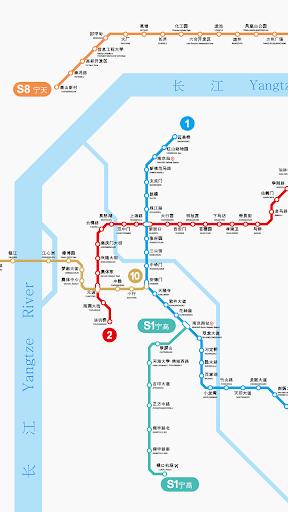 南京地铁路线图