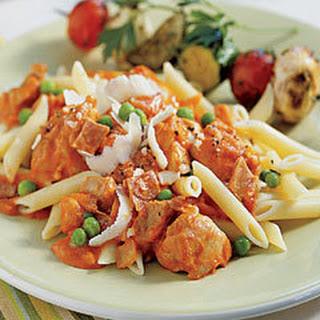 Chicken With Peas, Parmesan & Prosciutto