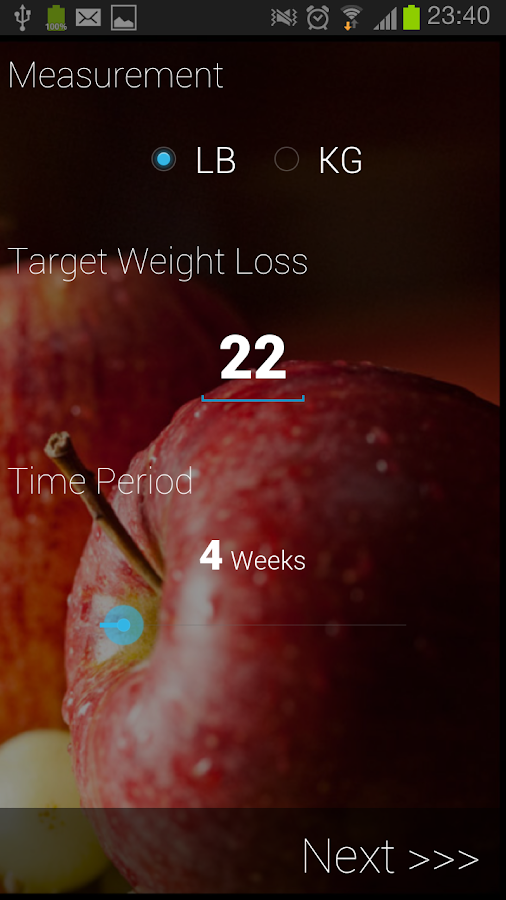 WeightMate Weight Loss Tracker - screenshot