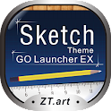 Sketch – GO Launcher Theme logo