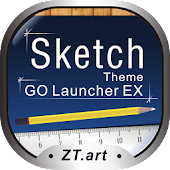 Sketch - GO Launcher Theme