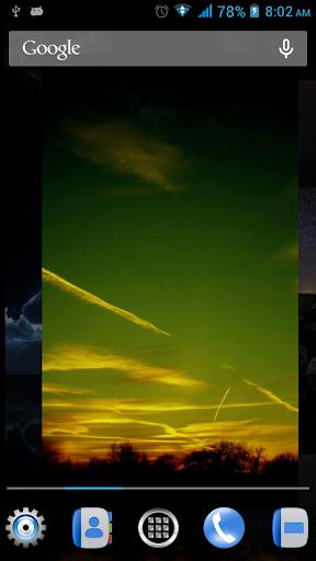 天空動態壁紙