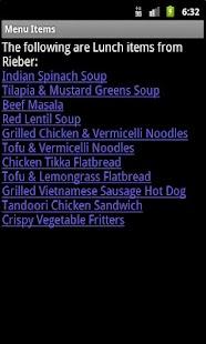 UCLA Dining Halls- screenshot thumbnail