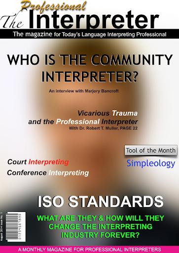 The Professional Interpreter