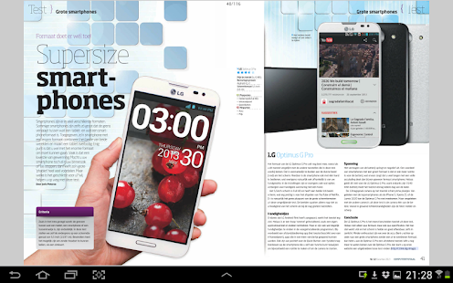 MagZine, De Digitale Kiosk- screenshot thumbnail