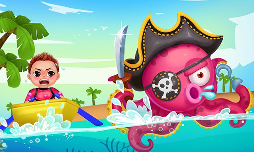 Sea Monster Kids Ocean Rescue