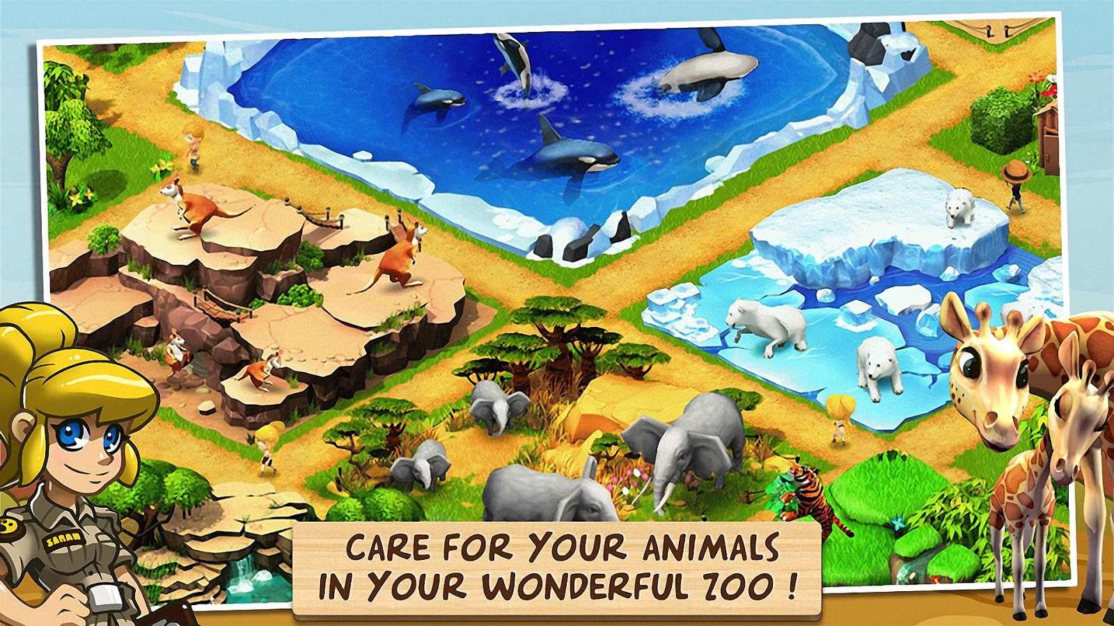Wonder Zoo - Animal rescue ! - screenshot