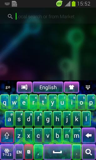 新しいキーボードのテーマ