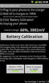 Battery Calibration Screenshot 2