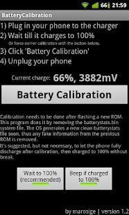 Battery Calibration - screenshot thumbnail