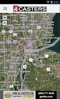 Screenshot of WDIV Local4Casters Weather