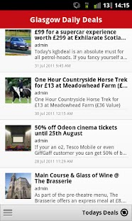 Glasgow Daily Deals- screenshot thumbnail