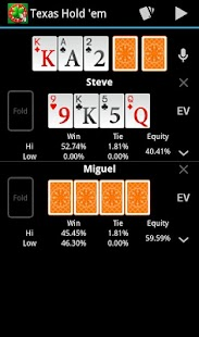 Free Poker Calculator - screenshot thumbnail