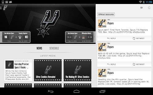 San Antonio Spurs- screenshot thumbnail