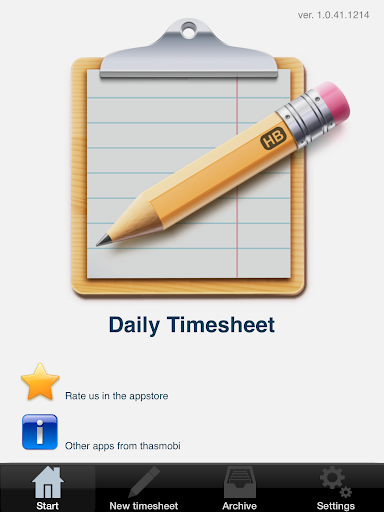 玩免費生產應用APP 下載Daily Timesheet app不用錢 硬是要APP