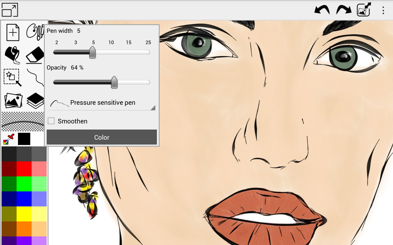 ScribMaster draw and paint - screenshot