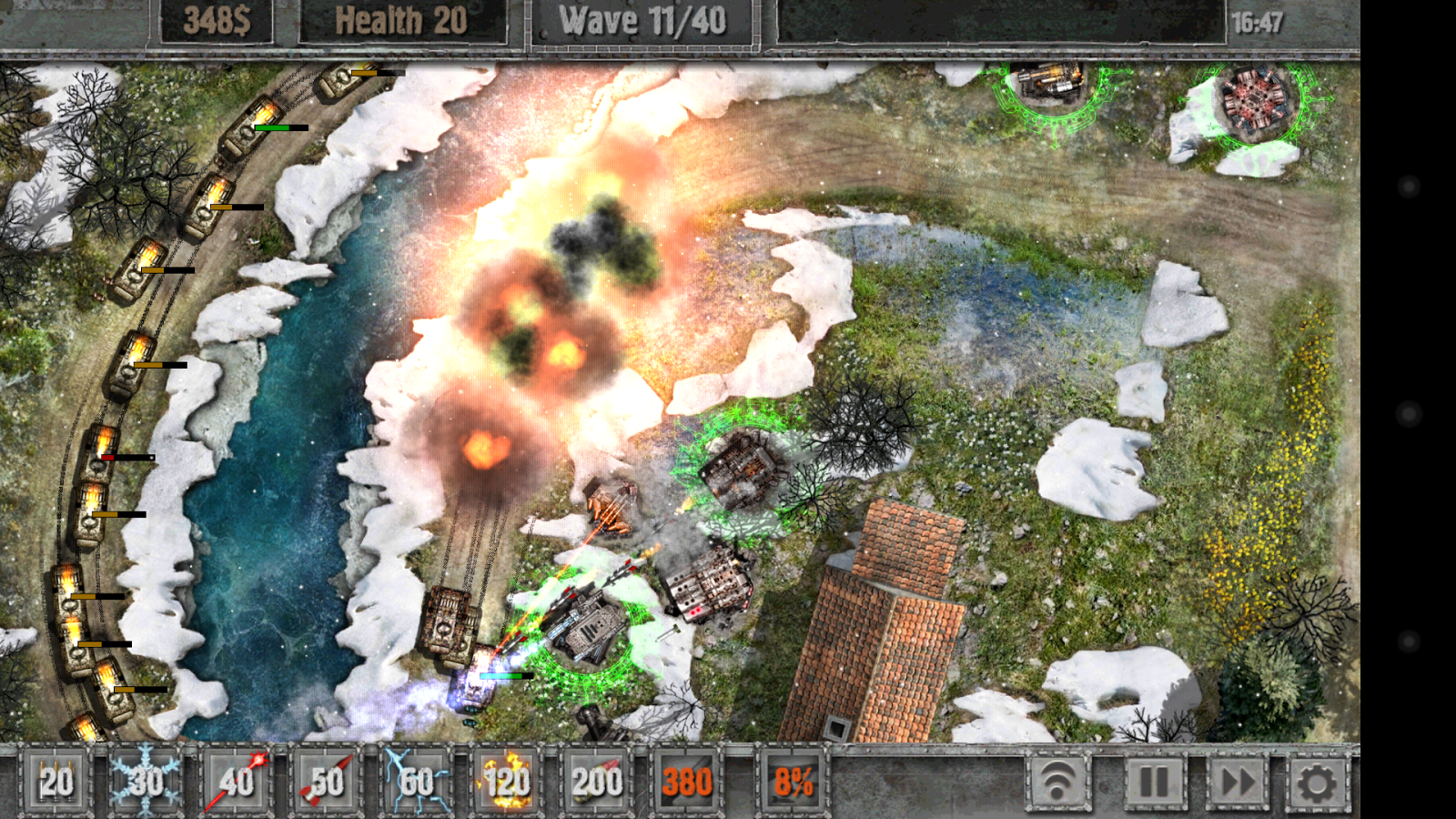 Defense Zone 2 HD- screenshot