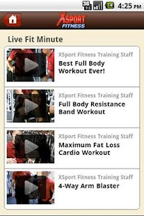 MyXSport - screenshot thumbnail