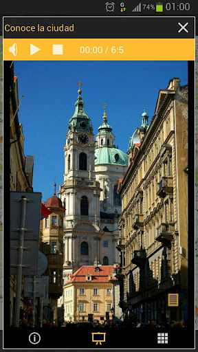 Audio guía Praga