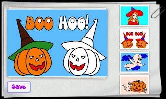 Screenshot of Children Color Halloween Free