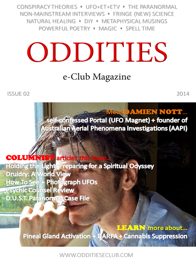 Oddities e-Club Magazine- screenshot