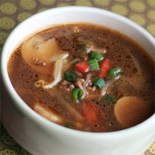 Asian Burger Soup