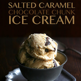 Salted Caramel Chocolate Chunk Ice Cream