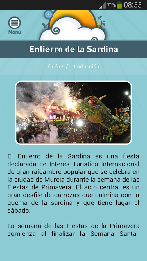 Fiestas de Murcia- screenshot