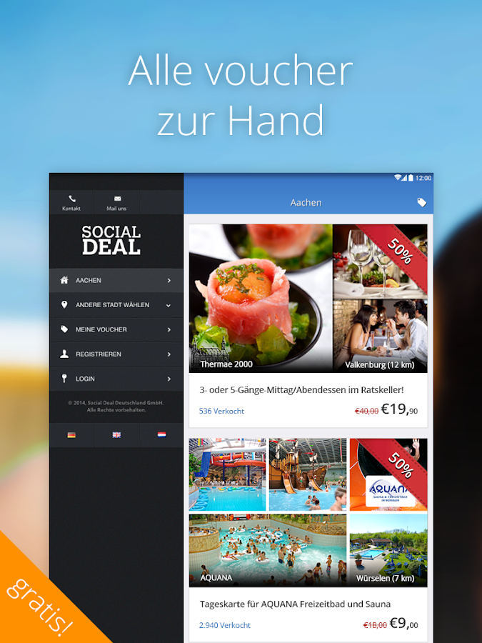 Social Deal – Screenshot