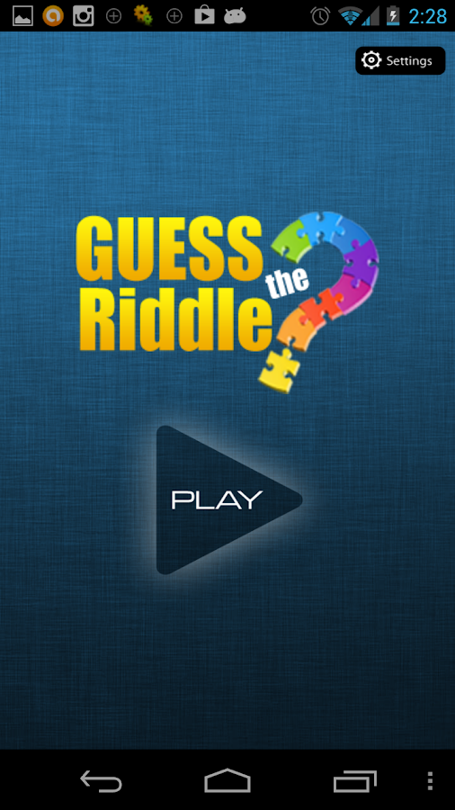 Guess the Riddle : Puzzle game - screenshot